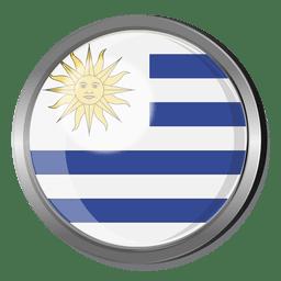 Insignia de la bandera de uruguay