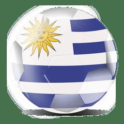 Bandeira do futebol do Uruguai