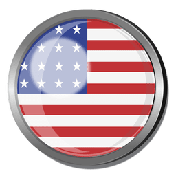 Distintivo de bandeira dos EUA