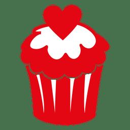 Valentinstag Cupcake