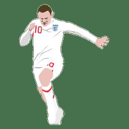 Desenhos animados de Wayne Rooney