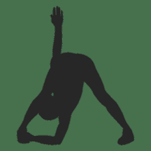Woman doing yoga 2 Transparent PNG