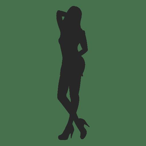 Woman fashion pose