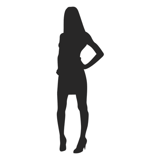 Woman posing fashion Transparent PNG