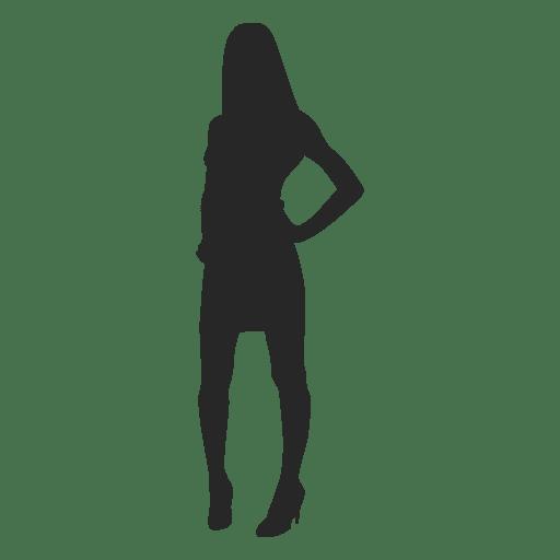 Woman posing fashion