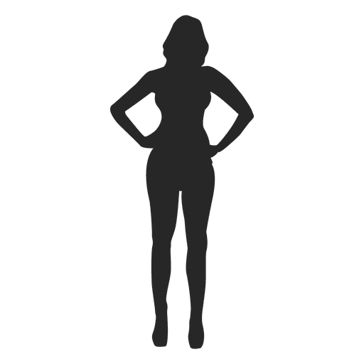 Woman posing for fashion Transparent PNG