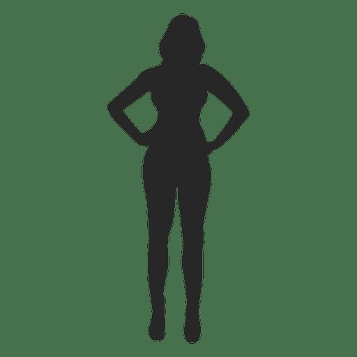 Woman posing for fashion