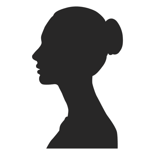 Human side view vector