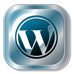 Wordpress metallic button