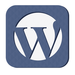 Wordpress-Gummi-Symbol