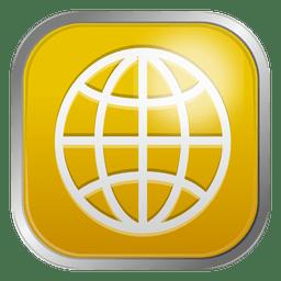 Ícone de grade do mundo