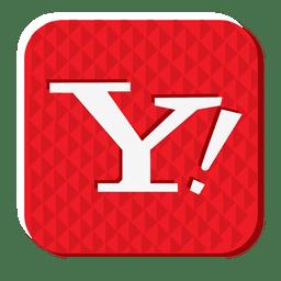 Yahoo rubber icon