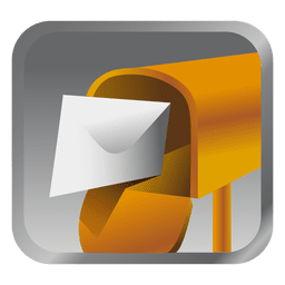Yellow message box icon