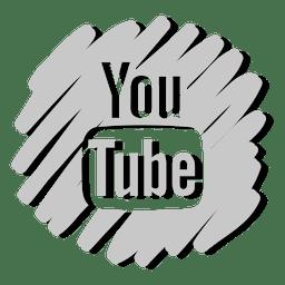 Icono de Youtube distorsionado