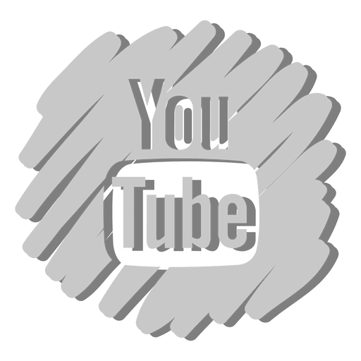 Youtube distorted icon Transparent PNG