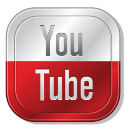 Youtube metallic button
