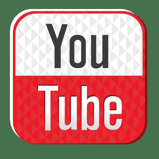 Ícone de borracha do Youtube Transparent PNG