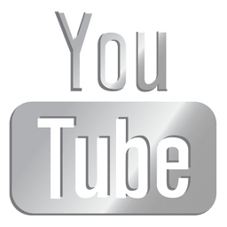 Youtube silberne Ikone