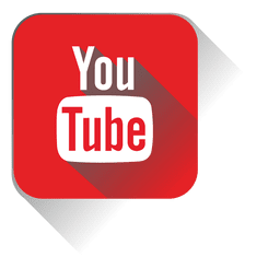 Icono cuadrado de youtube