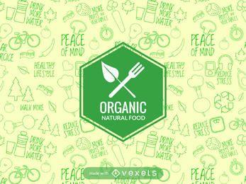 Fabricante de etiquetas de alimentos naturales