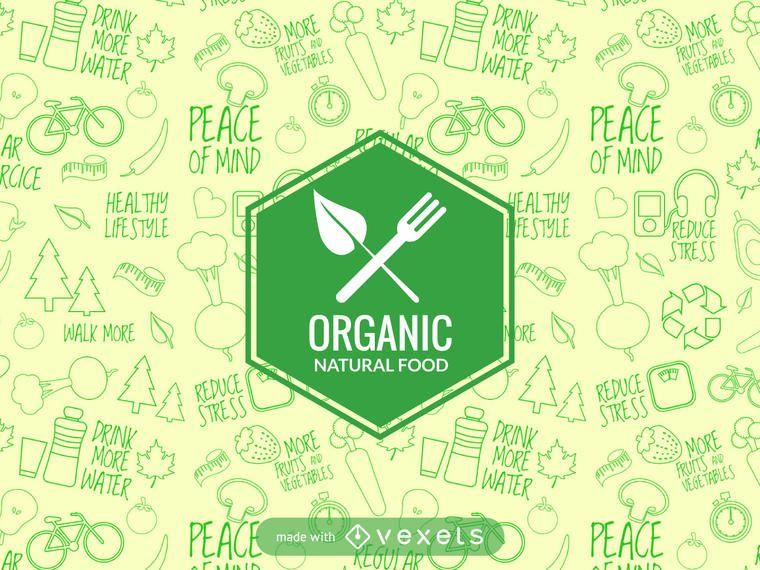Natural food label maker