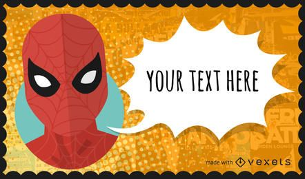 Superheld und Popkultur-Comicplakateure