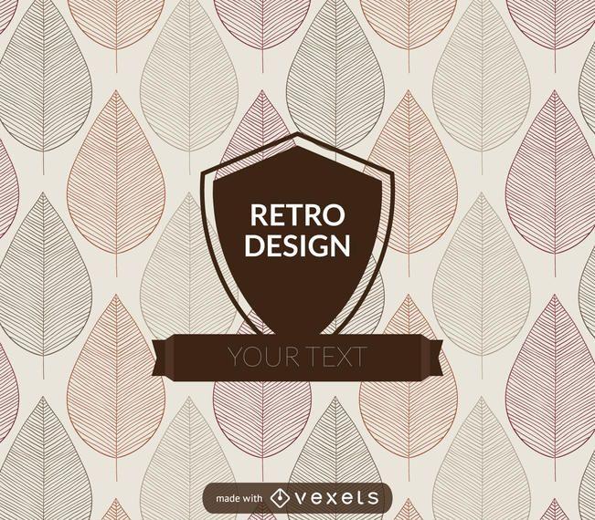 Retro badge maker