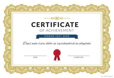 Creador de certificado de logro