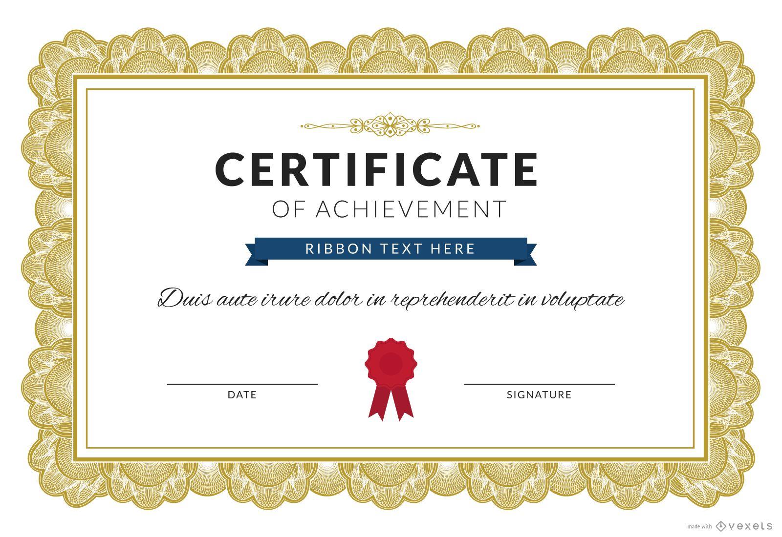 Zertifikat des Leistungsherstellers