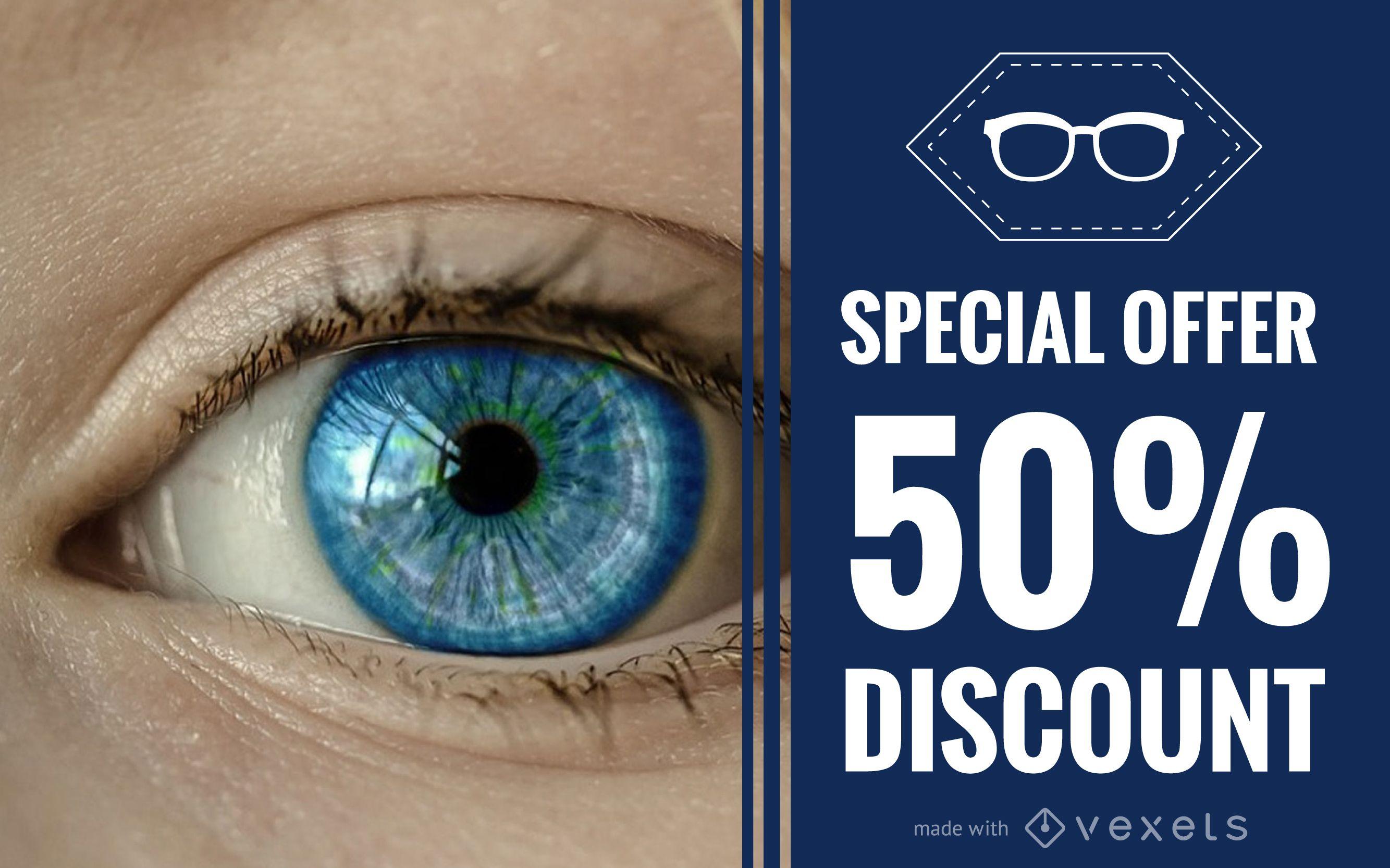 Creador de banners promocionales de oftalmolog?a