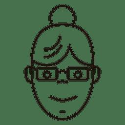 mulheres de coque com óculos