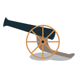 Armas de artillería de cañón.