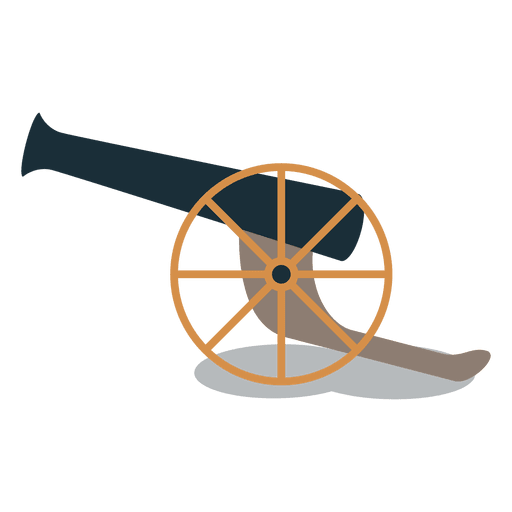 Armas de artillería de cañón. Transparent PNG