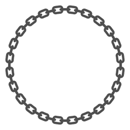 Ligações redondas da cadeia