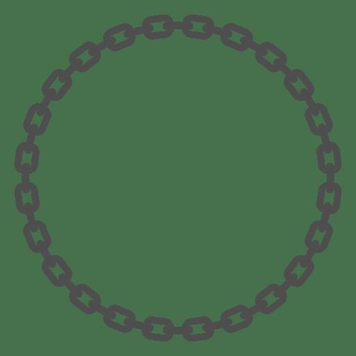Chain round links