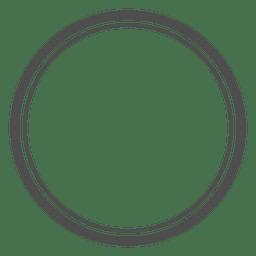 Círculos vazios concêntricos