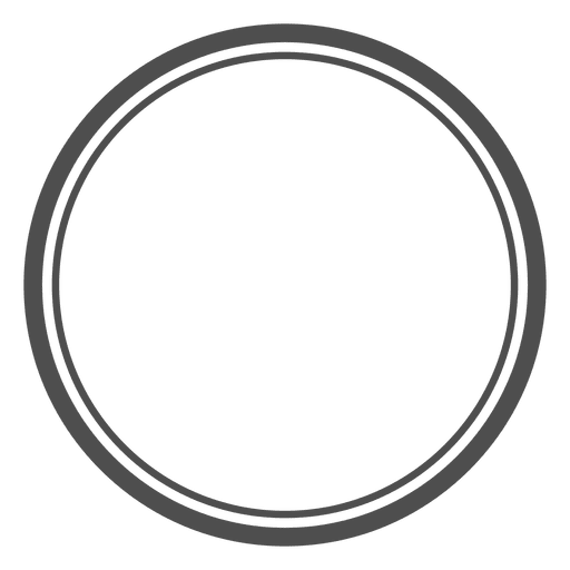 Circles empty concentric