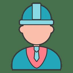 Desenhos de projeto de engenheiro de construção