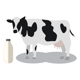 Cow milk animal