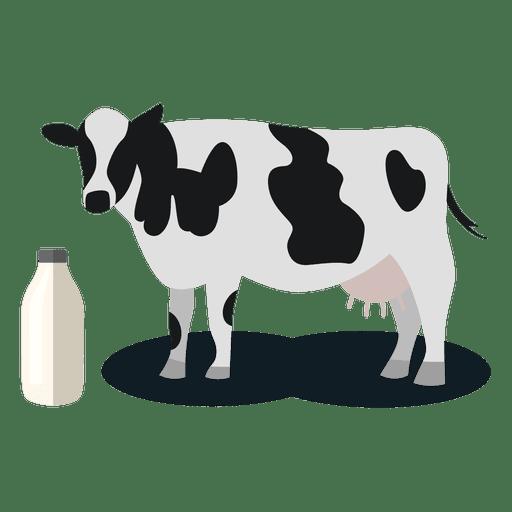 Vaca animal productor de leche Transparent PNG