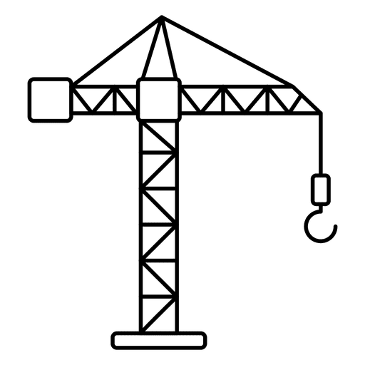 Desplazamiento de grúa Transparent PNG