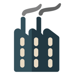 Factory chimneys economy