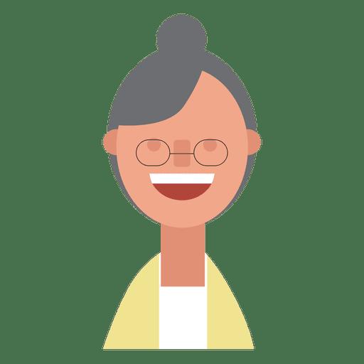 Grandmother bun merry Transparent PNG