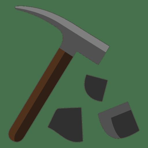 Martillo roto herramienta