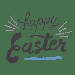 Frohe Ostern Nachricht Bleistift