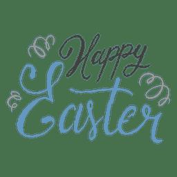 Feliz Páscoa confete caneta