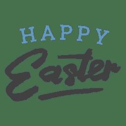 Feliz Pascua simple confeti negrita