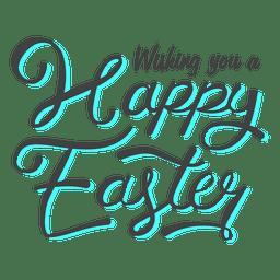 Mensaje de feliz pascua