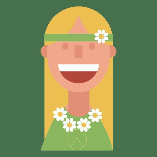 Hippie flor niños mujer