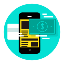 smartphones aplicativo de pagamento móvel